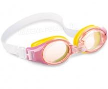 Okulary do pływania Junior 3 kolory dla dzieci od 3 lat 55601 Intex okularki