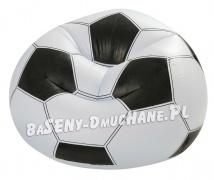 Piłkarski fotel dmuchany piłka nożna 108 x 110 x 66 cm INTEX