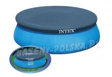 Pokrywa na basen 244 cm rozporowy PCV gumowa mocna Intex 28020