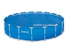 Pokrywa solarna do basenów 457 cm