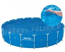 Pokrywa solarna grzejąca do basenów okrągłych 549 cm Bestway 58173
