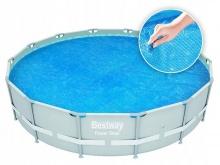Pokrywa solarna grzejąca na basen okrągły 488 cm Bestway 58253