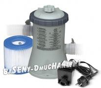 Pompa filtrująca do basenów 1250 l/h INTEX + transformator 12V