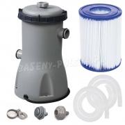 Pompa filtrująca do basenów 3028L/h Bestway z filtrem na 12V