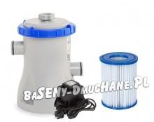 Pompa filtrująca do basenów transformator 12V 1249L/h 58381GS