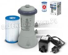 Pompa filtrująca do basenów + transformator 12V 2271L/godz INTEX 28604GS