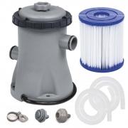 Pompa filtrująca z filtrem do basenów 1249L/h Bestway 58381