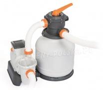 Pompa piaskowa do basenów ogrodowych 7751 L/h Bestway 58499