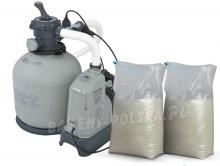 Pompa piaskowa generator chloru 10000 l/h INTEX 28680 z piaskiem 50kg