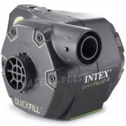 Pompka elektryczna akumulator podłączenie 12V i 230V Intex 66642