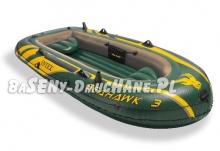 Ponton Seahawk 3 trzyosobowy 295 x 137 x 43 cm INTEX