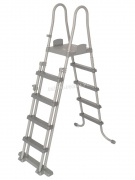 Safe ladder drabinka dwustronna do basenów 132 cm Bestway 58332