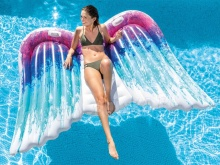 Skrzydła anioła duży i piękny materac plażowy 251 x 160 cm INTEX 58786