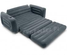 Sofa dmuchana fotel rozkładany 2w1 materac dwuosobowy Intex 66552