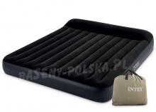 Szeroki materac dmuchany Pillow Rest King 203 x 183 x 25 cm INTEX 64144