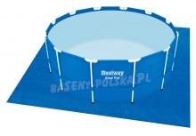 Uniwersalna mata pod basen okrągły 396 x 396 cm Bestway 58002