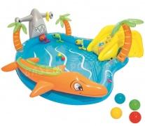 Wodny dmuchany plac zabaw dla dzieci Morska Przygoda Bestway 53067