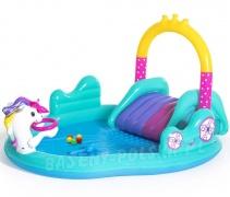 Wodny plac zabaw Jednorożec zjeżdżalnia dla dzieci Bestway 53097