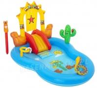Wodny plac zabaw dla dzieci Bestway 53118 Dziki Zachód 264 x 188 x 140 cm