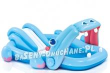 Wodny plac zabaw dmuchany dla dzieci hipopotam 221 x 188 x 86cm