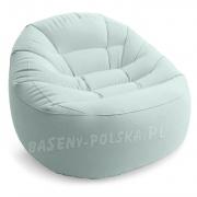 Wygodny fotel dmuchany INTEX 68590 2 kolory 112 x 104 x 74 cm