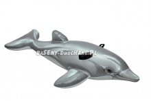Dmuchany Delfin do pływania dla dzieci 201 x 76cm Intex 58539