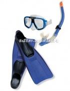 Zestaw ABC Nurka maska płetwy rurka do nurkowania Intex 55957
