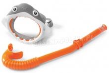 Zestaw do nurkowania Rekin Maska i Rurka INTEX 55944