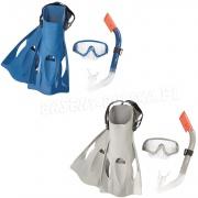 Zestaw do nurkowania płetwy maska rurka Bestway 25020 rozmiar 41-46 EU